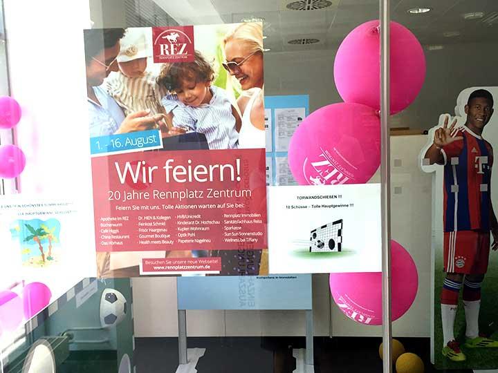 Foto Aktionen DM Drogeriemarkt und Edeka Neukauf