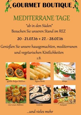 Mediterrane Tage im Rennplatzzentrum - Gourmet Boutique