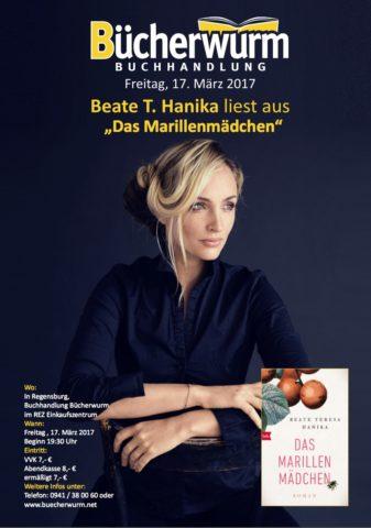 Hanika Das Marillenmaedchen_Buecherwurm Lesung Rennplatzzentrum